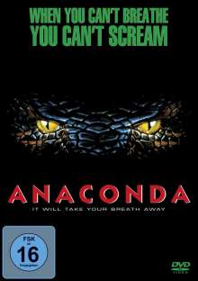 Anaconda, DVD