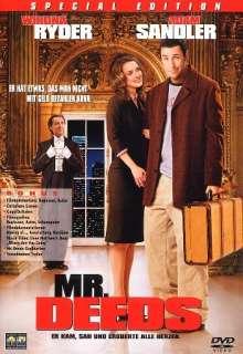 Mr. Deeds (2002), DVD