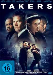 Takers, DVD