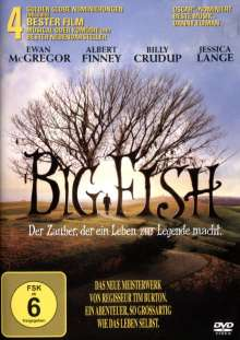 Big Fish, DVD