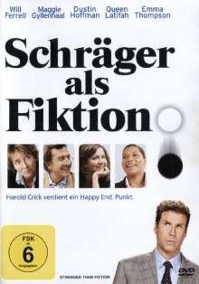 Schräger als Fiktion, DVD