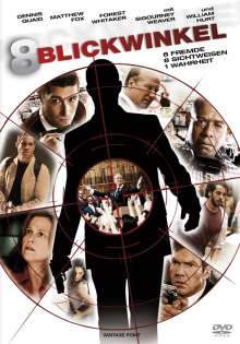 Acht Blickwinkel, DVD