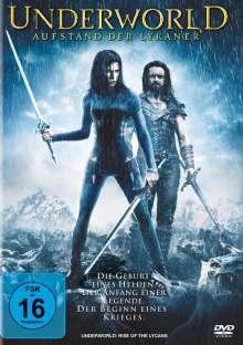 Underworld: Aufstand der Lykaner, DVD