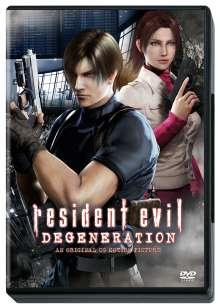 Resident Evil: Degeneration, DVD