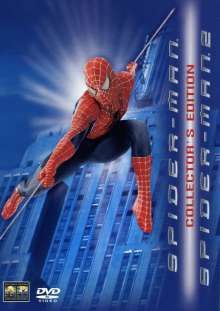 Spider-Man 1 & 2 (Collector's Edition), 4 DVDs