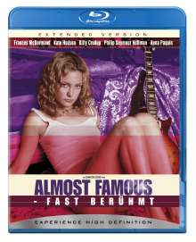 Almost Famous (Extended Version) (Blu-ray), Blu-ray Disc