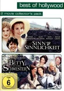 Sinn und Sinnlichkeit / Betty und ihre Schwestern, 2 DVDs