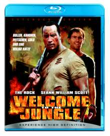 Welcome to the Jungle (Blu-ray), Blu-ray Disc