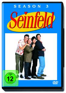 Seinfeld Season 3, 4 DVDs
