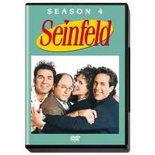 Seinfeld Season 4, 4 DVDs