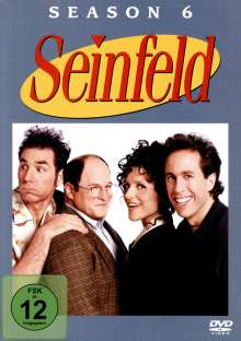Seinfeld Season 6, 4 DVDs