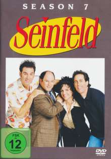 Seinfeld Season 7, 4 DVDs
