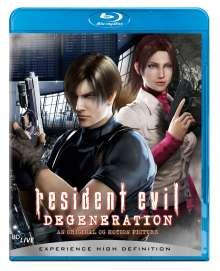 Resident Evil: Degeneration (Blu-ray), Blu-ray Disc