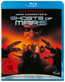 John Carpenter's Ghosts of Mars (Blu-ray), Blu-ray Disc