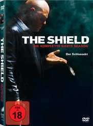 The Shield Season 7, 4 DVDs
