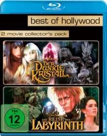 Der dunkle Kristall / Die Reise ins Labyrinth (Blu-ray), 2 Blu-ray Discs