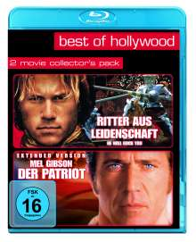 Best of Hollywood: Ritter aus Leidenschaft/Der Patriot(BR), 2 Blu-ray Discs