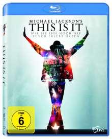 Michael Jackson: This Is It (Blu-ray), Blu-ray Disc