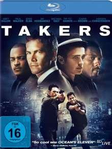 Takers (Blu-ray), Blu-ray Disc