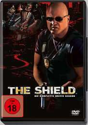The Shield Season 3, 4 DVDs
