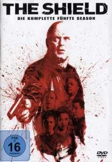 The Shield Season 5, 4 DVDs