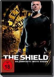 The Shield Season 2, 4 DVDs