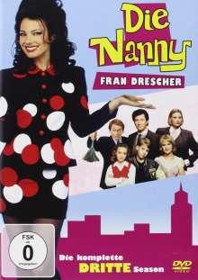 Die Nanny Season 3, 3 DVDs