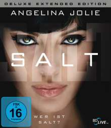 Salt (Extended Edition) (Blu-ray), Blu-ray Disc