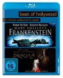 Frankenstein (1994) / Dracula (Blu-ray), 2 Blu-ray Discs