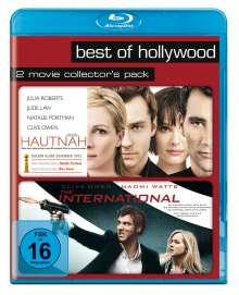 Hautnah / The International (Blu-ray), 2 Blu-ray Discs