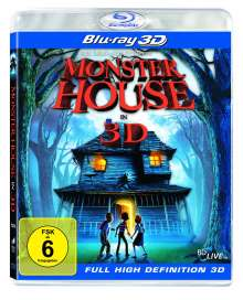 Monster House (3D Blu-ray), Blu-ray Disc