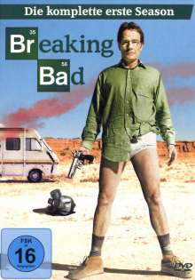 Breaking Bad Season 1, 3 DVDs