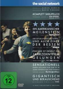 The Social Network (Special Edition), 2 DVDs