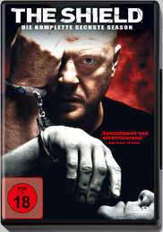 The Shield Season 6, 4 DVDs