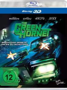 The Green Hornet 3D (Blu-ray), Blu-ray Disc