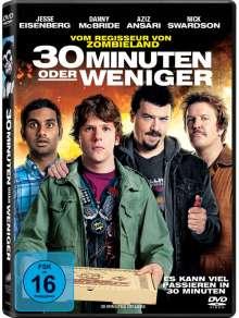30 Minuten oder weniger, DVD