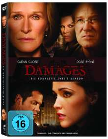 Damages Season 2, 3 DVDs