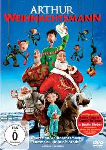 Arthur Weihnachtsmann, DVD