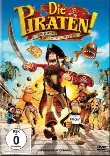 Die Piraten - Ein Haufen merkwürdiger Typen, DVD