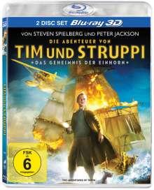 Tim und Struppi: Das Geheimnis der Einhorn 3D (Blu-ray), 2 Blu-ray Discs