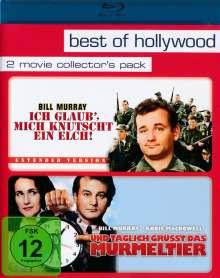 Ich glaub', mich knutscht ein Elch! / Und täglich grüsst das Murmeltier (Blu-ray), 2 Blu-ray Discs