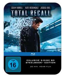 Total Recall (2012) (Extended Director's Cut) (Blu-ray im Steelbook), 2 Blu-ray Discs