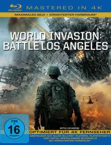 World Invasion: Battle Los Angeles (Blu-ray Mastered in 4K), Blu-ray Disc