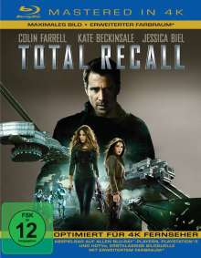 Total Recall (2012) (Blu-ray Mastered in 4K), Blu-ray Disc