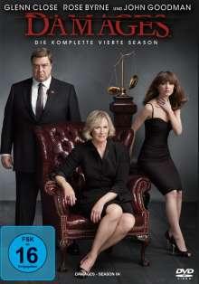 Damages Season 4, 3 DVDs