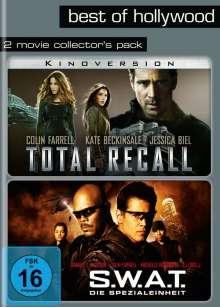 Total Recall / S.W.A.T. - Die Spezialeinheit, 2 DVDs