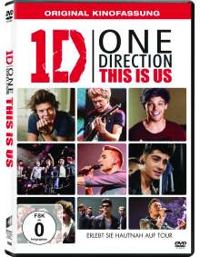 One Direction: This is us (OmU), DVD