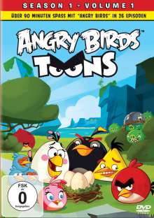 Angry Birds Toons Season 1 Vol. 1, DVD