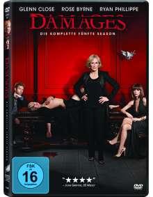 Damages Season 5, 3 DVDs