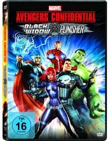 Avenger Confidential: Black Widow & Punisher, DVD
